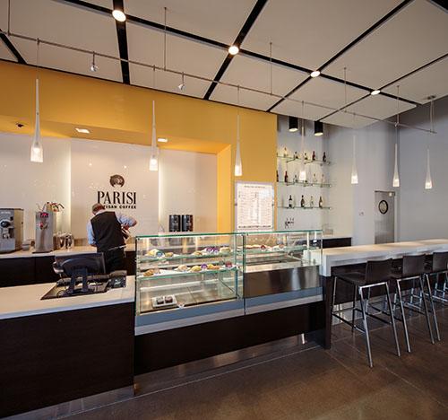 Parisi Cafe, Park Place