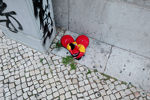 Discarded Clown Shoes